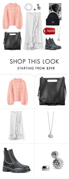 """533 - Winter Is Coming"" by caroline-mathilde ❤ liked on Polyvore featuring Ganni, Gucci, Alexander Wang, B&O Play and Acne Studios"