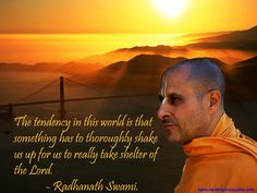 Surrendering to the Lord  For full quote go to: http://quotes.iskcondesiretree.com/radhanath-swami-on-surrendering-to-the-lord/  Subscribe to Hare Krishna Quotes: http://harekrishnaquotes.com/subscribe/  #Surrender
