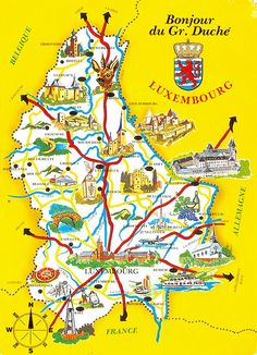Luxembourg, someday I hope to find where my husband's ancestors lived in this country.