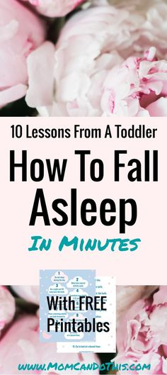 Learn how to fall asleep fast and have a good night's rest. 10 Lessons to fall asleep in minutes as taught by a toddler. Get back your sound nights and enjoy your morning well rested. Includes a free printable checklist. Sleep Meditation For Kids, How To Sleep Faster, Have A Good Night, Keeping Healthy, Time Management Tips, Good Sleep, Blogging For Beginners, Make Money Blogging, Blog Tips