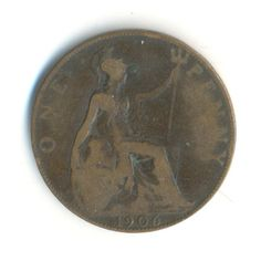 Items similar to Edward VII One Penny 1906 Coin (Code: on Etsy Mall, Coins, Unique Jewelry, Handmade Gifts, Etsy, Vintage, Kid Craft Gifts, Rooms, Craft Gifts