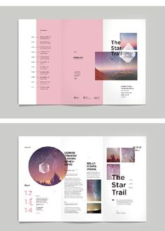 Mise en page / Cósmico_ on Behance
