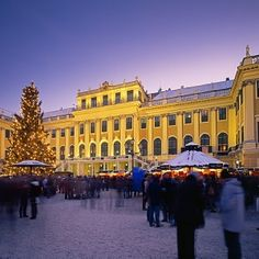 Between 18 Nov to 26 Dec 2017 and New Year's Market from 27 Dec 2017 to 01 Jan 2018 The foreground of Schonbrunn Palace is transformed into a Christmas Market.