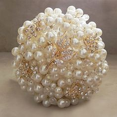 Pearl bouquet.....very pretty