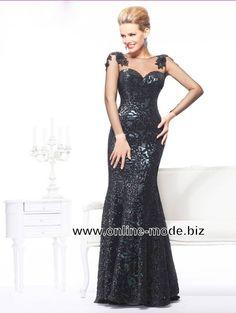 Damen Kleid Abendkleid Online Bestellen in Schwarz