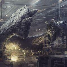 neill blomkamp artwork Alien 5 ?