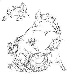 art impressions stempels pig front - Google zoeken