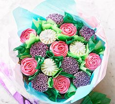 This stunning edible bouquet takes a little time to preparebut the results are jaw-dropping. If you're looking for a Mother's Day showstopper, this is it!