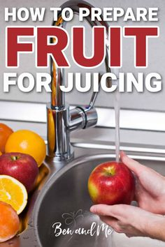 Not all fruit can be just tossed into the juicer as is. There are components of some fruit (seeds, leaves, peel) that are not healthy to consume. Here are some tips for how to prepare fruit for juicing. #juicing #howtojuice #fatsickandnearlydead Superfood Recipes, Healthy Recipes, Cherry Apple, Fruit Seeds, All Fruits, Apple Juice, Health Articles, Tossed, Healthy Kids