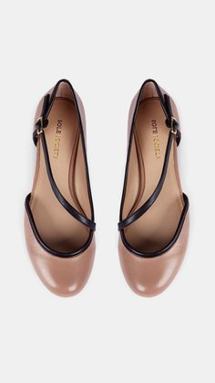 Solesociety flats - love the color!