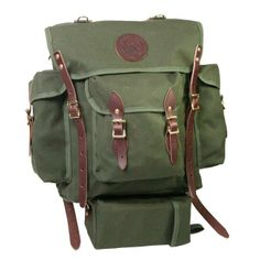 Wildland Firefighter Pack - Hunt - Outdoors :: Duluth Pack :: Made in the USA :: Quality leather and canvas luggage, backpacks, camping, and outdoor gear,