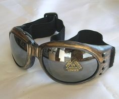 Distressed AntiqueGold 'STEAMPUNK' Cyber Rave Goggles by jadedminx, $26.50