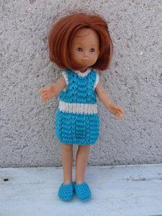 Fiche gratuite vêtements de poupée N° 161: robe