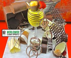 A Chocolate Treasure - How to make Chocolate Garnish  Decorations for De...