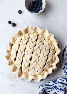 Ripe, juicy blackberries and plump, local blueberries sweeten up this classic summer pie.