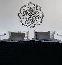 Mandala OM Version 5 Decal Sticker Wall Vinyl