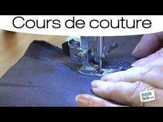 Couture : Monter des poches de côté - YouTube