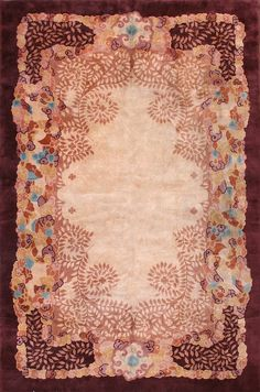"#253 Chinese Art Deco carpet    10'11"" x 16'6"""