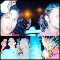 Mike Starr & Layne Staley with 2 others at Disneyland 1990 Mike Inez, Mike Starr, Nirvana Band, Jerry Cantrell, Grunge, Happy Birthday My Love, Mad Season, Layne Staley, Rock Groups