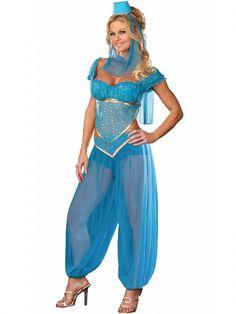 Genie costume nikki wears to the school halloween party thats a week before halloween