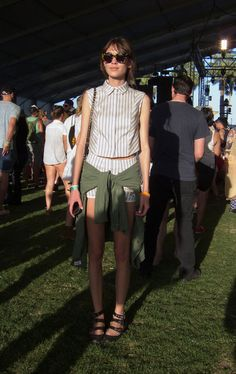Street Style At 2013 Coachella Festival: <3