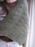 """""""I Just Want to Knit"""" Shawl - check out the woodsy hat - so cute"""