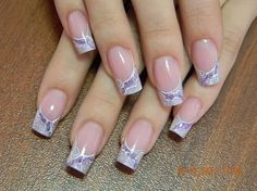 Another French manicure idea