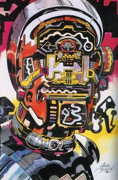 Robotics by Jack Kirby    this is the best anything