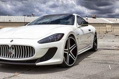 Maserati Grand Turismo MC Stradale edition   Vellano VRH-C concave wheels