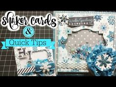 *Hello Winter* Shaker Cards + Tips! - YouTube