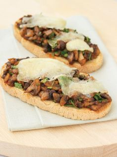 eggplant salad toasts by smitten kitchen | Cooking Light To Make ...