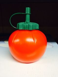 Vintage Retro 1970s Plastic Red Tomato Sauce Ketchup Dispenser Kitsch Cool 1960s | eBay
