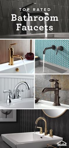 Itching to update your bathroom? Instantly update the look with a fresh faucet - whether you're looking for something to be functional, or the focal point of your space we've got you covered.