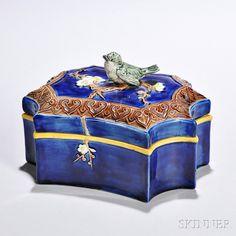 Holdcroft majolica box