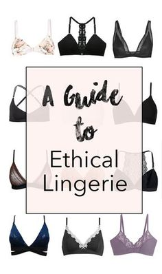 15 Ethical Lingerie Brands you need to know - heylilahey. - Yvonne Soares - 15 Ethical Lingerie Brands you need to know - heylilahey. 15 Ethical Lingerie Brands You Need to Know - Fair Fashion / Ethical Fashion - Estilo Fashion, Fashion Mode, Slow Fashion, Ideias Fashion, Womens Fashion, Fashion Stores, Ethnic Fashion, Cheap Fashion, Fashion Tips