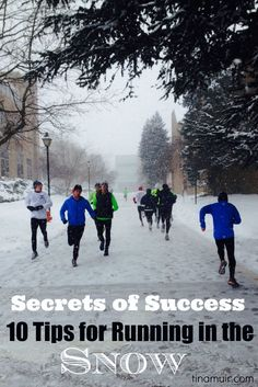 10 Tips for Running in the Snow