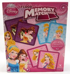 Disney Princess Floor Memory Match Game     Gather your friends for a Princess Memory Match Game. This is a modern version of the classic game with all your favorite Disney Princesses. Game conta