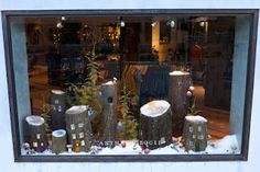 the crepe confectionary: finding holiday inspiration from store windows and displays...