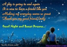 Good and sweet dreams