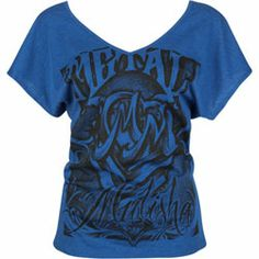 metal mulisha women's top | Find out more about METAL MULISHA Amazing Womens Tee