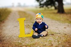 love the large L #baby #photography