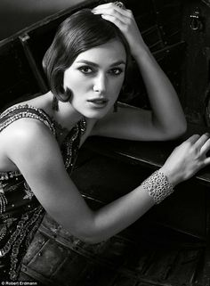 Keira Knightley for Marie Claire