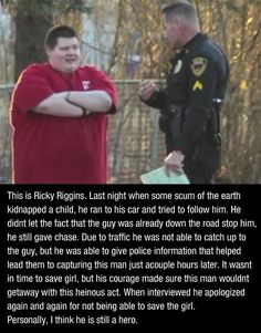 The world needs more people like Ricky…