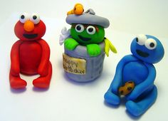 Shop for sesame street on Etsy, the place to express your creativity through the buying and selling of handmade and vintage goods. Sesame Street Cake, Sugar Craft, Handmade Items, Handmade Gifts, Cake Decorating, Decorating Ideas, Fondant Cakes, Gum Paste, Best Part Of Me