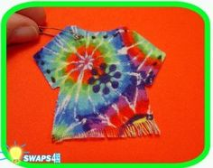 JAMAICA! Tie Dye Shirt Scout SWAPS Girl Kit - Swaps4Less