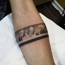 Resultado de imagen de tribal bracelets tattoo