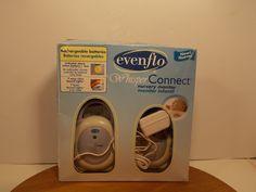 Evenflo Whisper Connect Nursery Monitor Baby in box #Evenflo