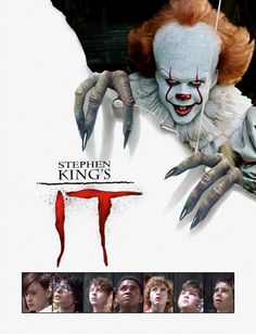This is just a quick edit of the new It movie in the It movie poster or DVD cover. It - 2017 poster in 1990 style Scary Movies, Horror Movies, Good Movies, New Movies, Netflix Horror, Clown Horror, Halloween Horror, Horror Art, Horror Posters