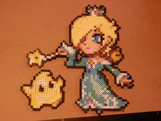 Super Smash Bros 4 Rosalina and Luma Bead Sprites by MechaPoltergeist.deviantart.com on @deviantART