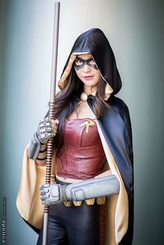 #Cosplay: Red #Robin ( #Rule63 ) Arkam City - Wondercon 2014